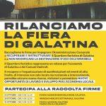 """""""Galatina""""Una raccolta firme per riaprire il quartiere Fieristico"""